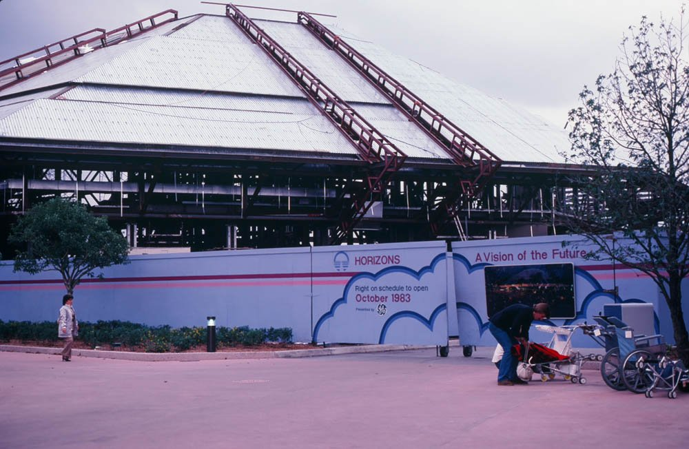 Found this photo my Dad took of a still-under-construction EPCOT center. You guys want more? cc @Brad_N_Abbott https://t.co/mVZNScwpv7