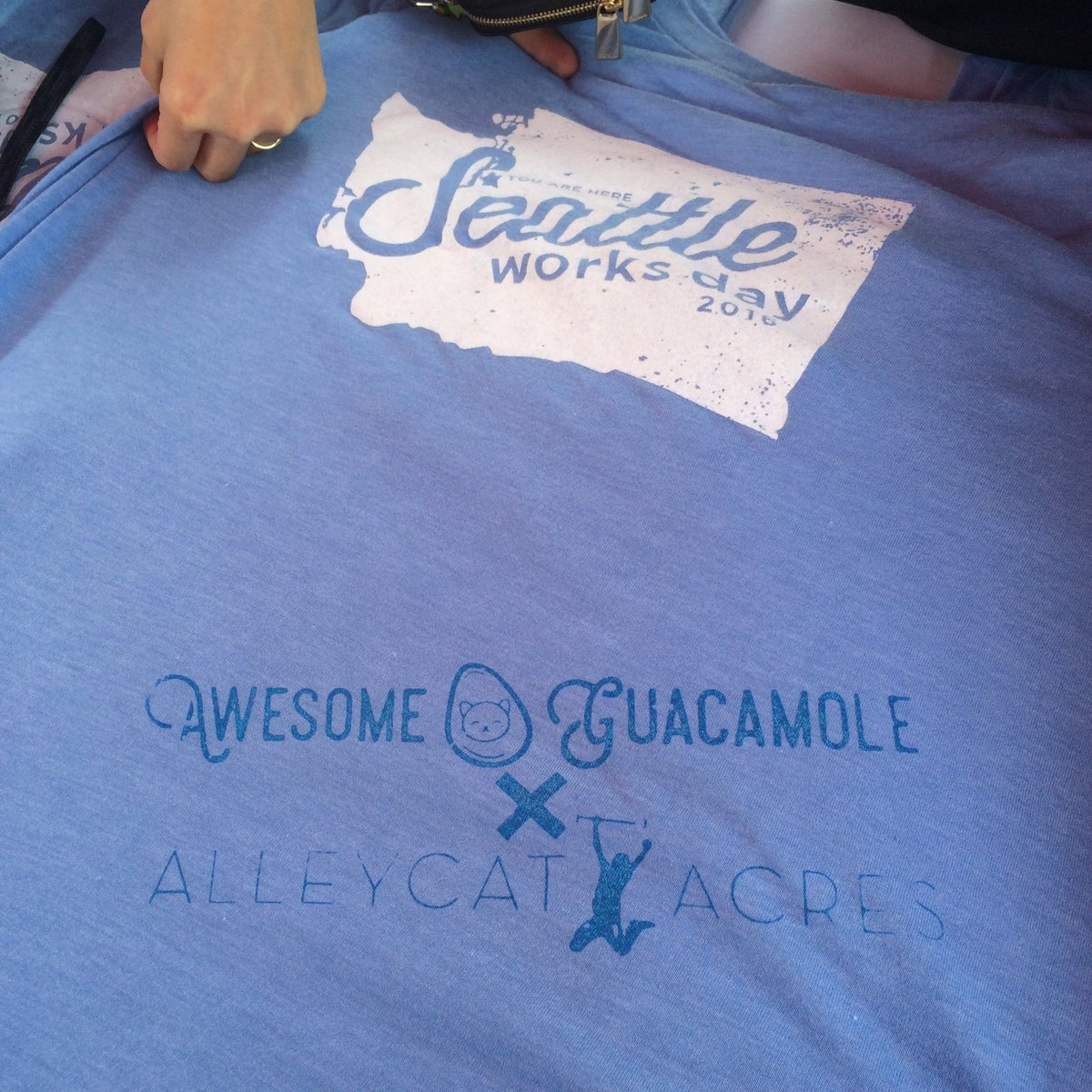We thought our #SWDay shirts were pretty great before, but then Awesome Guacamole added their flair! https://t.co/4JeHt2BNNC
