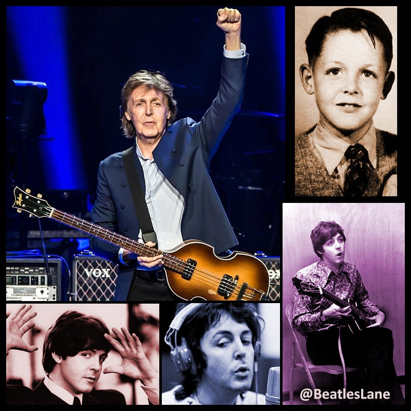 """Add 10 years to """"When I'm 64"""" because James Paul McCartney turned 74 today! #HBD #PaulMcCartney https://t.co/NU8SUltD9S"""