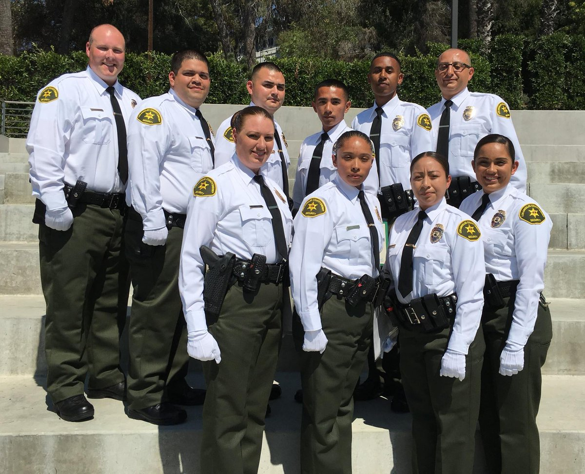 la county sheriffs on twitter a special congrats to the ten new sheriff security officers now assigned to county services bureau cslasd lasd