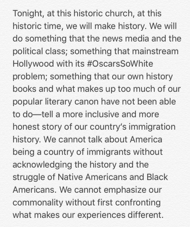RT @joseiswriting: Part of my intro remarks to #IAmAnImmigrant event @DefineAmerican #ImmigrantHeritageMonth @Welcome_us https://t.co/LkXtO…