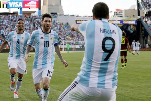 ARGENTINA in semifinale contro Stati Uniti. Battuta VENEZUELA 4-1 (Video Gol Sintesi)