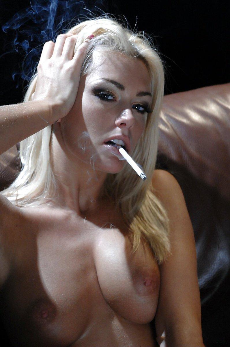 Stram smoking fetish
