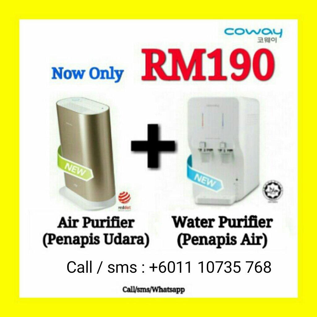 coway jb on twitter promosi nk raya neo water purifier indicator air baru rm190 sebln nk diskaun lg dm saya https t co r8ulltgwjp
