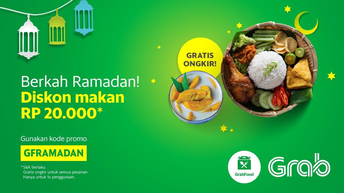 Grab Indonesia On Twitter Free Ongkir Diskon Makanan 20rb Dgn Never Miss A Moment