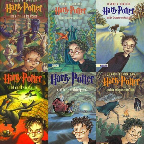 Image result for german harry potter covers