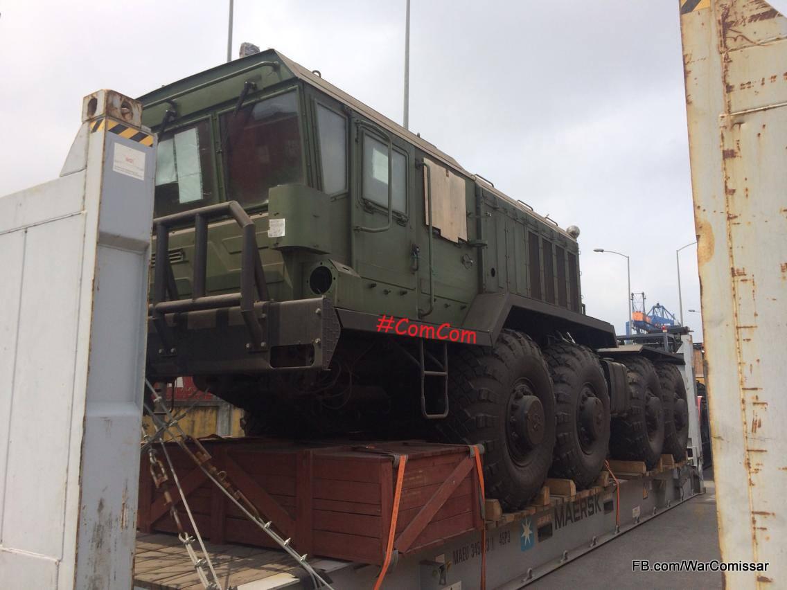 Вьетнам получил из России партию колесных тягачей КЗКТ-7428