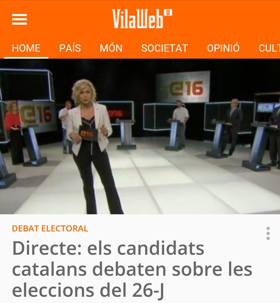 Debat candidats catalans #26J