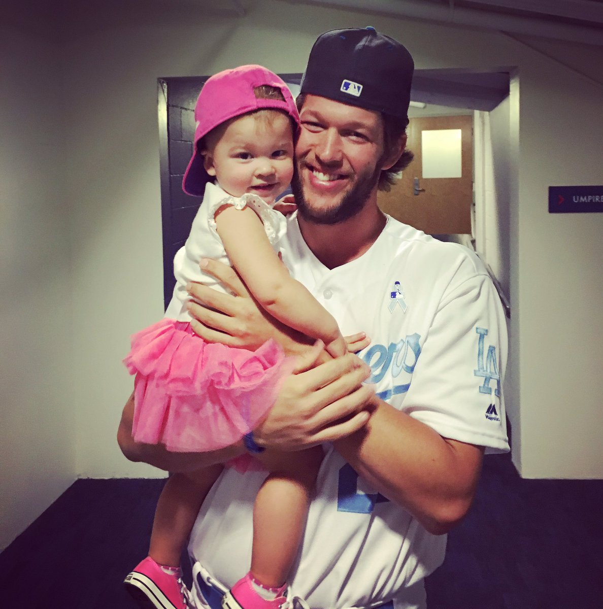 Happy Father's Day @ClaytonKersh22! We absolutely adore you! Excited to add a BOY to our chaos!