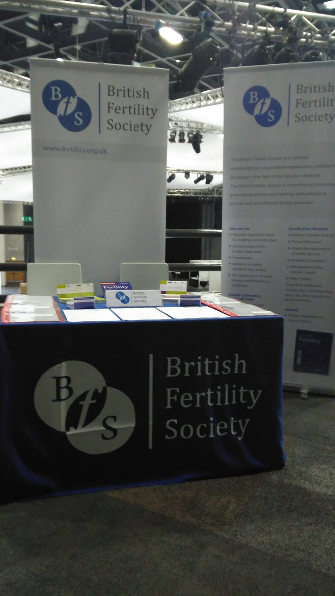 BFS #RCOG2016, stand G5, hall 3 gallery. Come and see us for your free preview of Human Fertility Journal articles. https://t.co/MaU1oaIMla