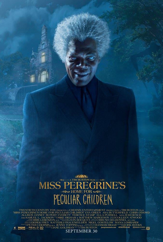 Miss Peregrine's Home for Peculiar Children Character Posters Unveiled 6