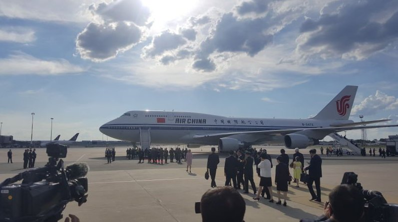 Chinese President Xi Jinping arrived in Poland Sunday on the second stop of his three-nation Eurasia tour https://t.co/j1spc84o0P