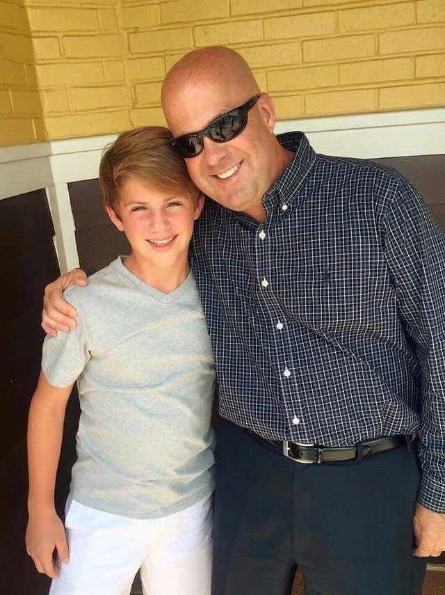 Photo of MattyB  & his  Father  Blake Morris
