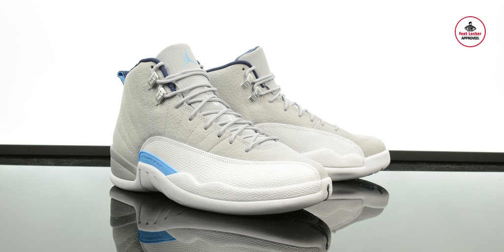 1001555a1066 the air jordan 12 retro wolf grey university blue arrives in stores and  online saturday