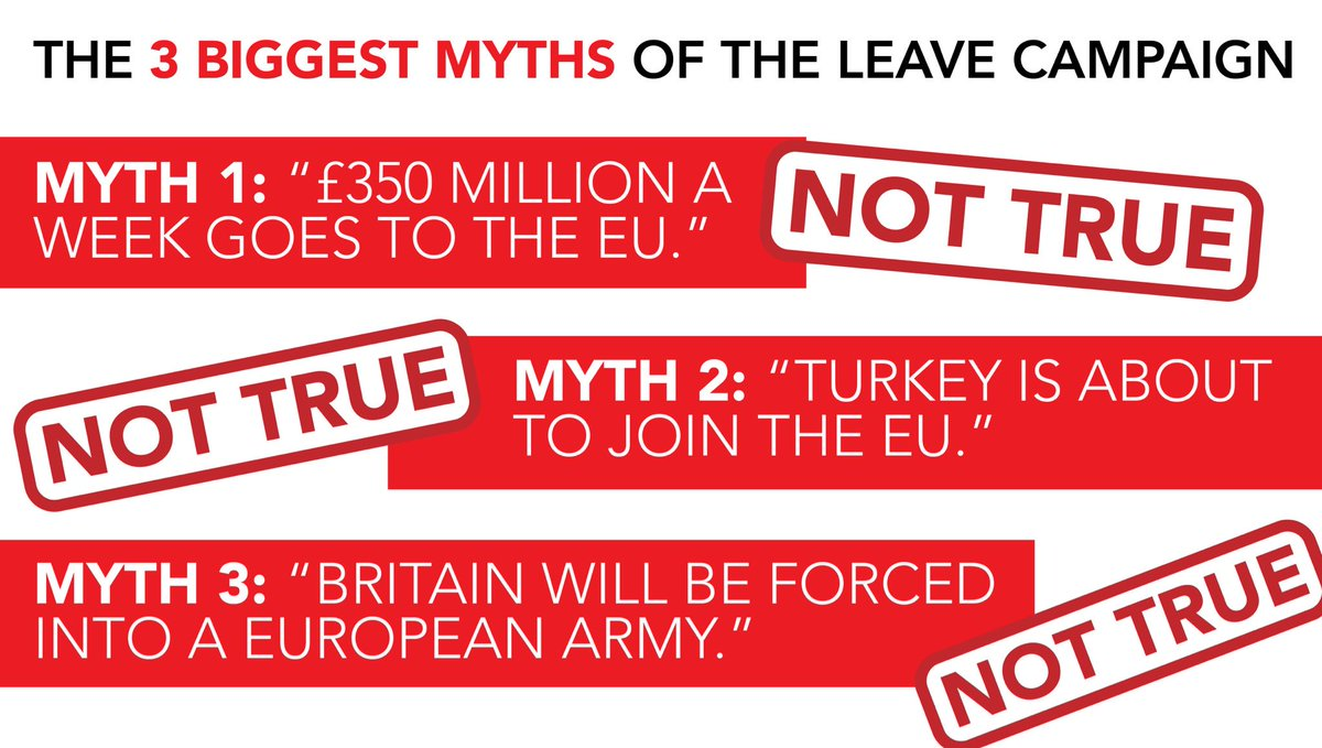 We really have to bust these myths - they really are nonsense. #EUref #StrongerIn https://t.co/NQMErHwGC6
