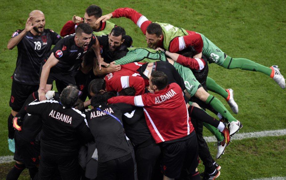 EURO 2016: storica vittoria dell'ALBANIA con Sadiku, sconfitta la ROMANIA