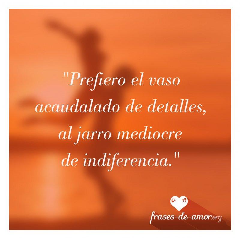 Frases De Amor Auf Twitter Prefiero El Vaso Acaudalado