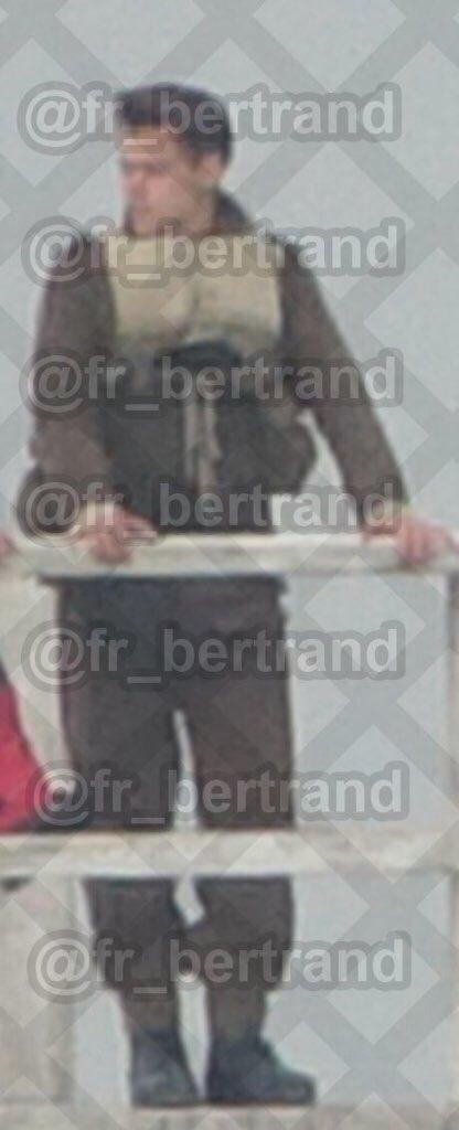 Harry no set de gravação de Dunkirk, recentemente.