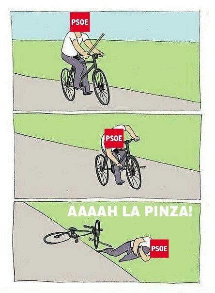 """@iunida Mientras tanto, el @PSOE contiúa negando una y otra vez la realidad, inventándose """"la pinza"""" #L6Npatxilópez https://t.co/DIzueqeXJ8"""