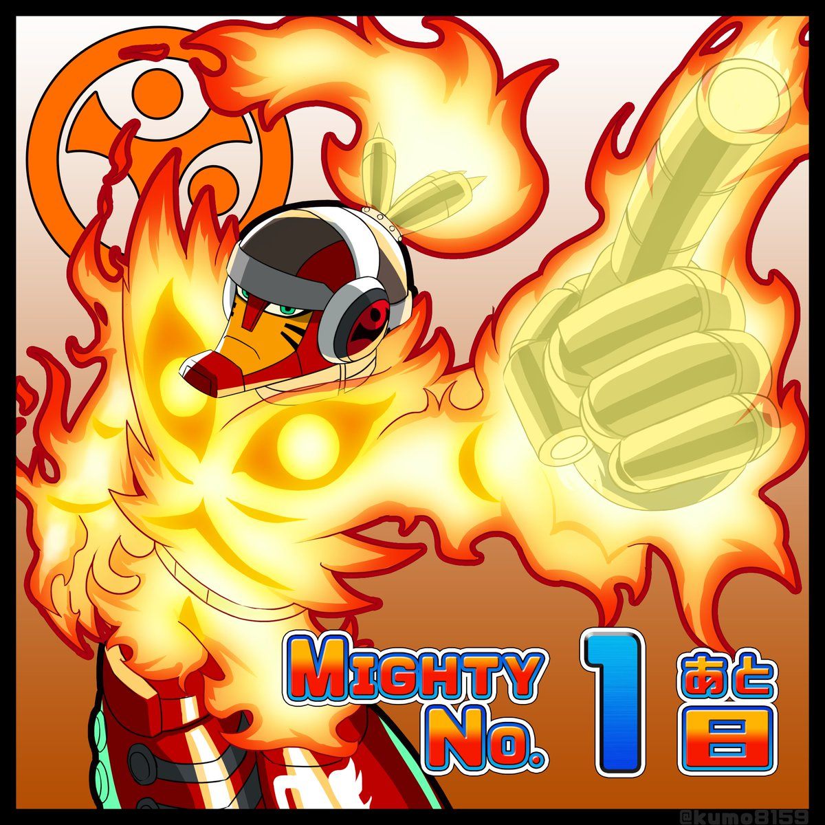 Mighty No.9発売まで! #MightyNo9 https://t.co/PHk2K8NYjb