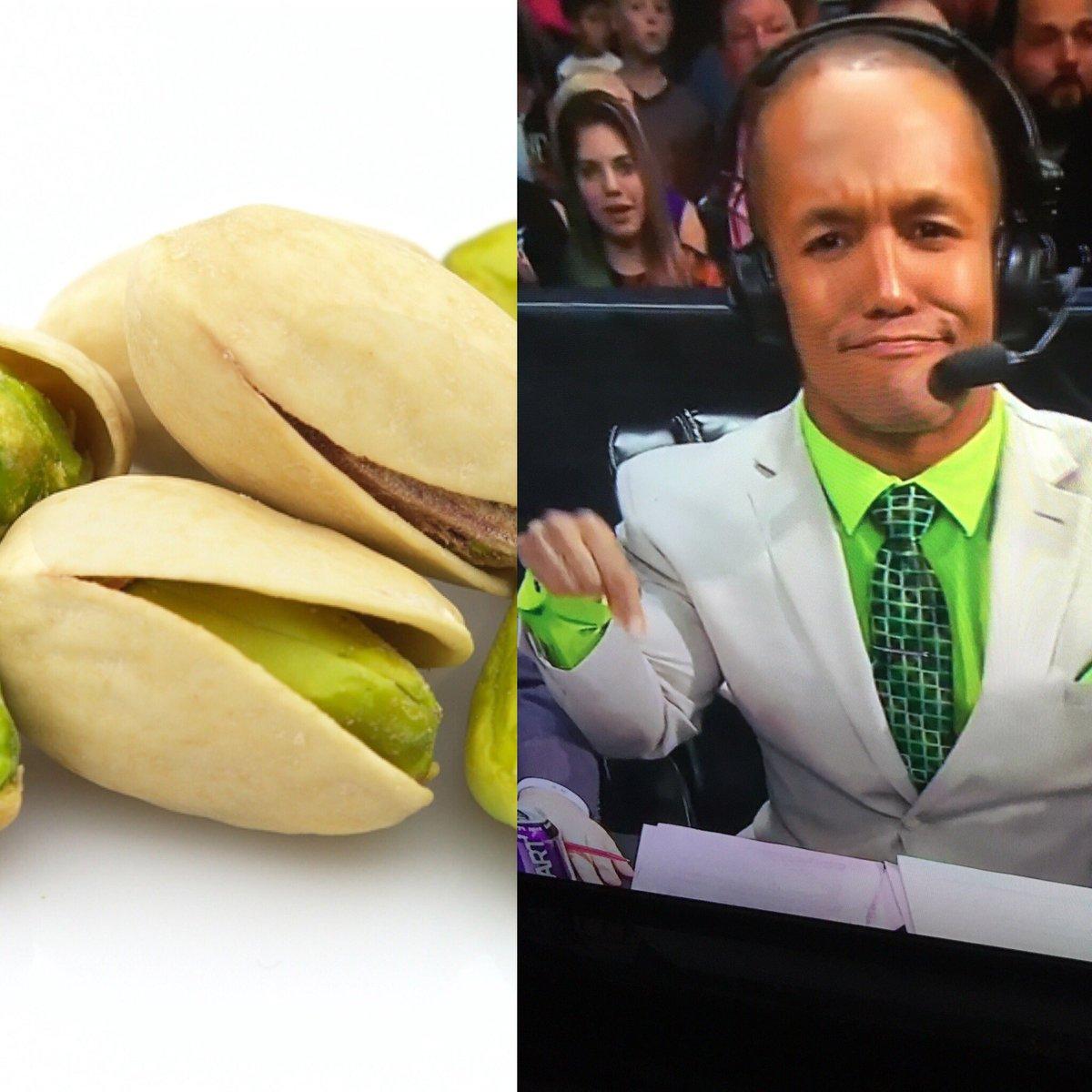 . @ByronSaxton is looking like a damn pistachio hahah https://t.co/hqlX6Fb6Hv