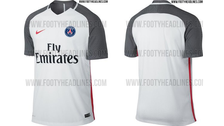 uniforme psg temporada 2016