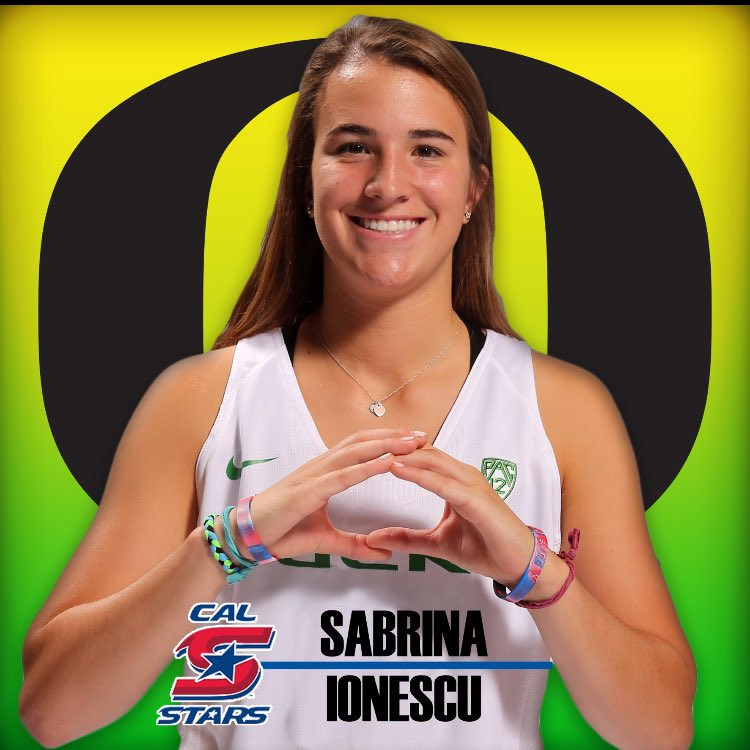 """Sabrina Ionescu on Twitter: """"Officially an Oregon Duck ..."""