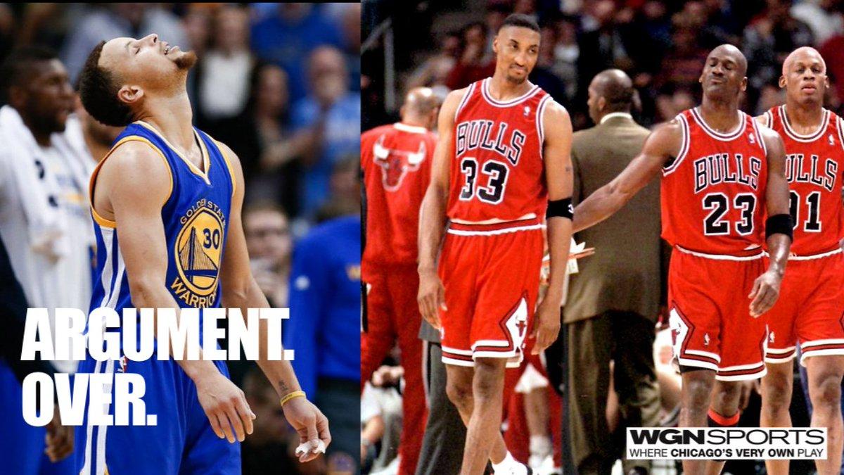 Argument. Over.  '95-96 Bulls > '15-16 Warriors. #NBAFinals #Bulls https://t.co/eMIkLfisqK
