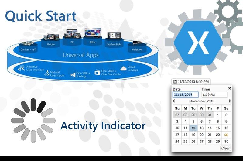 Activity Indicator Xamarin Forms