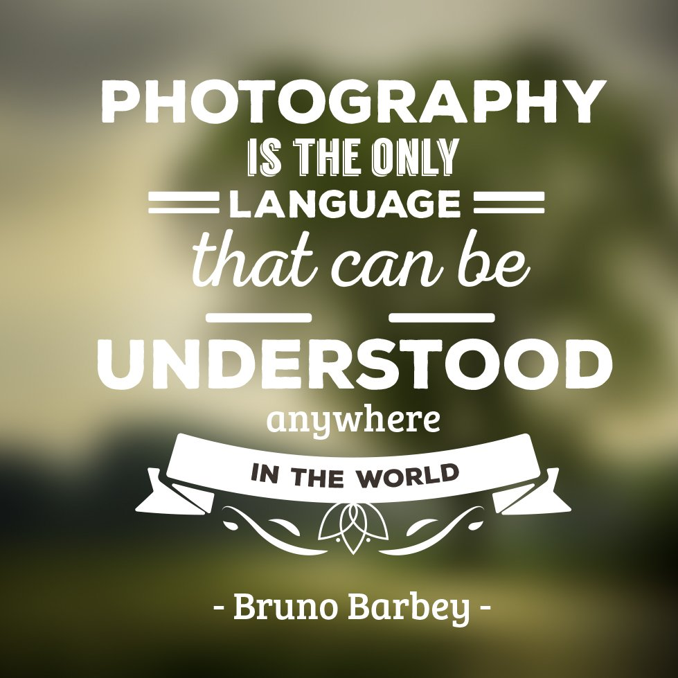 """Photography is the only language that can be understood anywhere in the world"" - Bruno Barbey https://t.co/ES43qzSIa1"