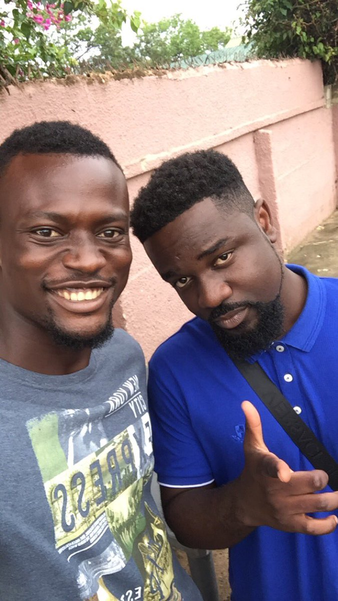 Shout to @sarkodie... You just make ma day Big man!! God Bless
