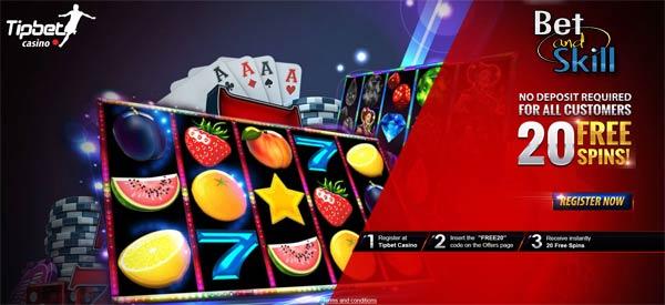 Tipbet Casino No Deposit Bonus