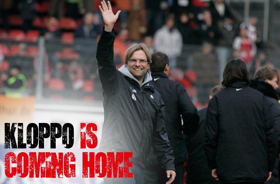 #Kloppo is coming home! Eröffnungsspiel der #OpelArena am Sonntag, 7.8. (15:45). #Mainz05 gegen @LFC_Deutsch #YNWA