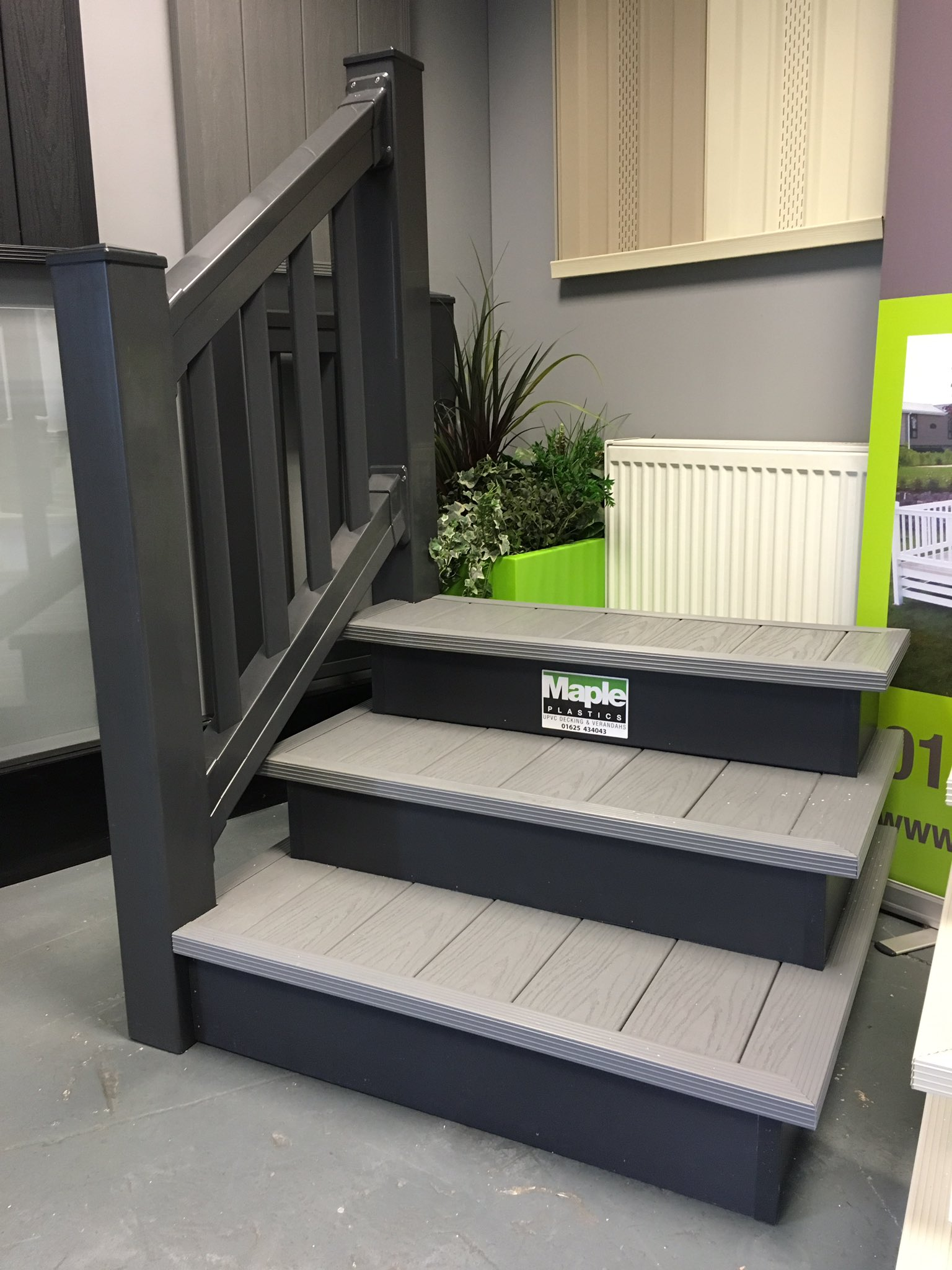 Deck brokers on twitter anthracite and dove grey upvc for Ready made staircase