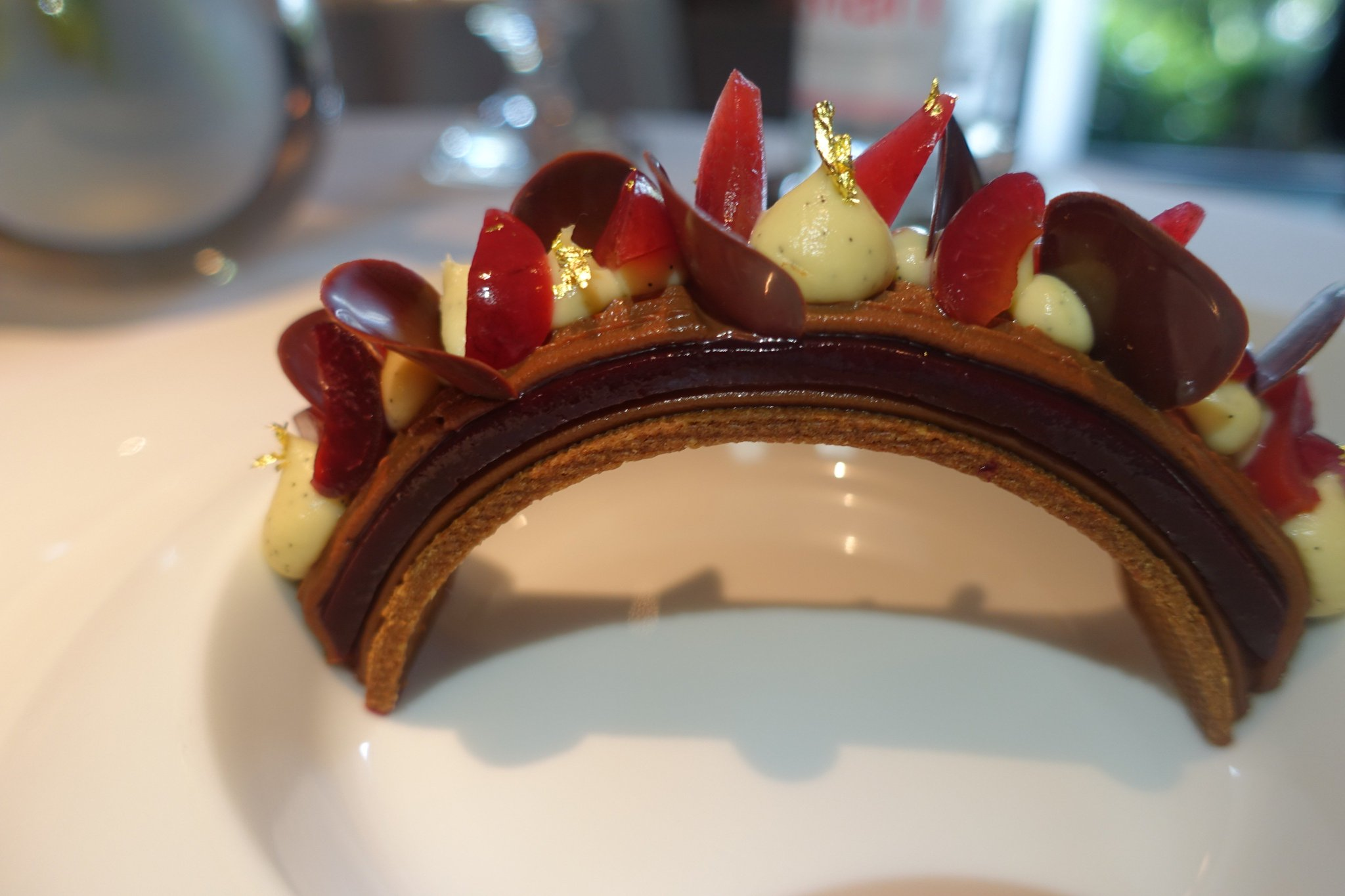Andy Hayler On Twitter Quot Cherry And Chocolate Dessert At 3