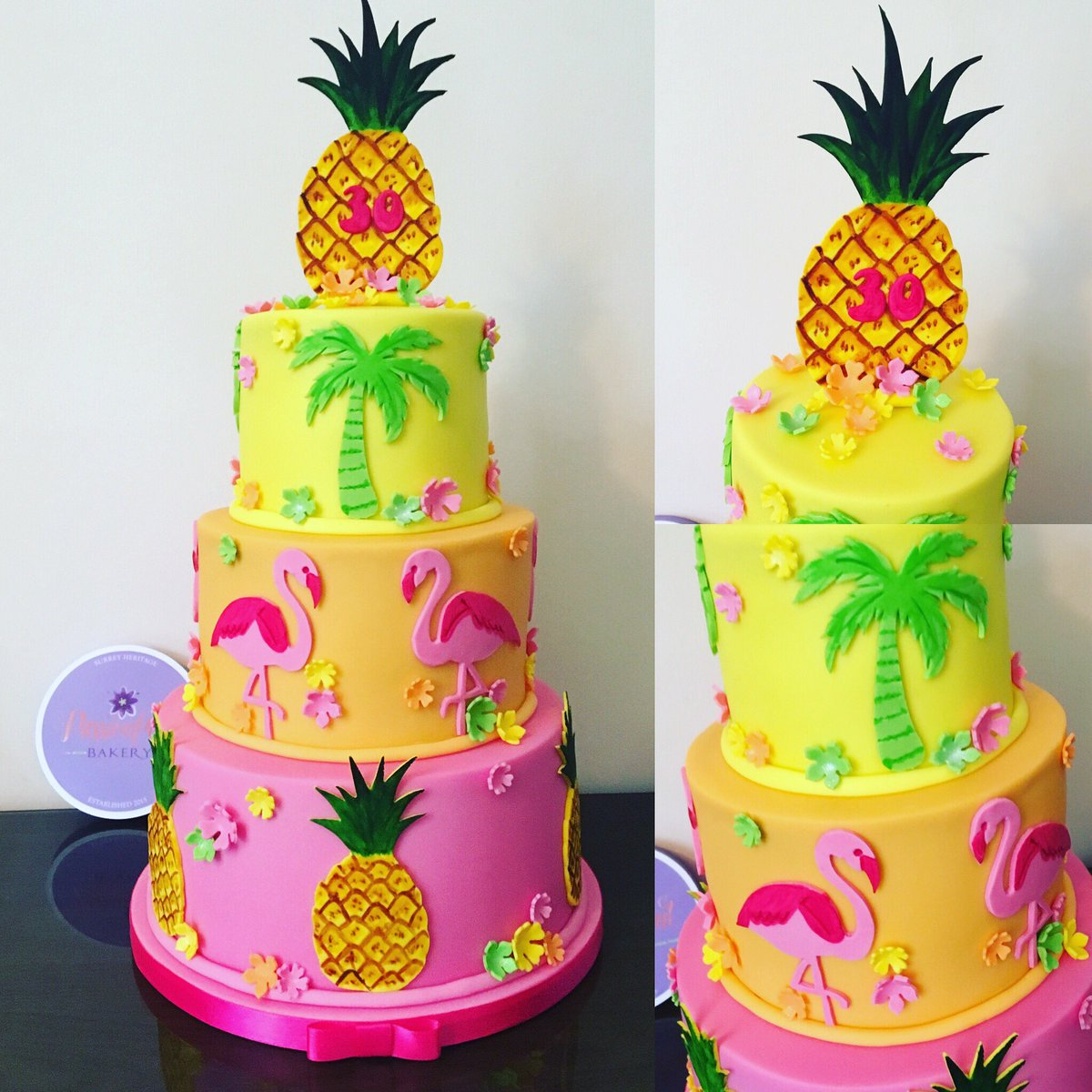 Passionfruit Bakery On Twitter A Totally Tropical Cake For A 30th