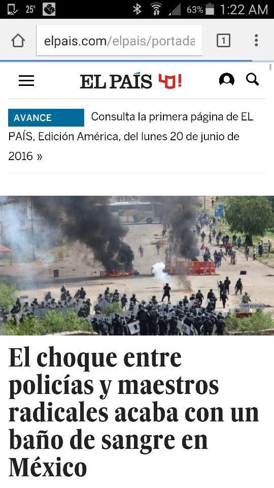 Todo el mundo lo ve, menos los periodistas chayoteros y de medios vendidos #OaxacaGrita https://t.co/qJ6JpeCvef