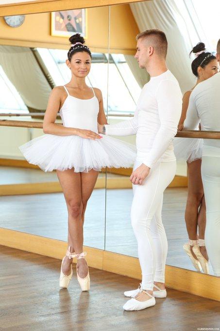 Christen Courtney In Brilliant Blowjob Petite Ballerinas 1