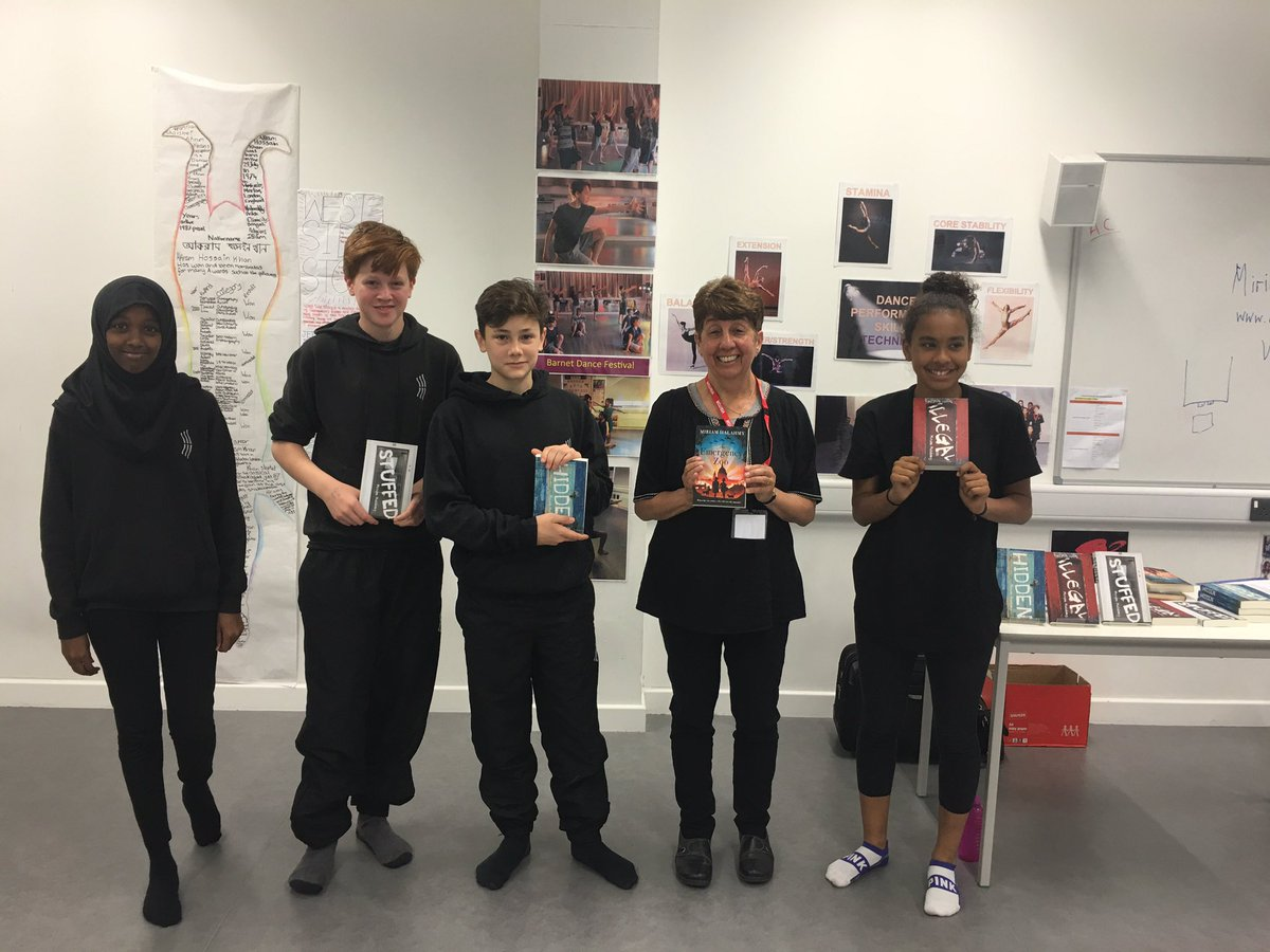 Such a brilliant morning @ArcherAcademy for #RefugeeWeek. Drama scripts, scenes from HIDDEN and #TheEmergencyZoo. https://t.co/W8LayeoPtf