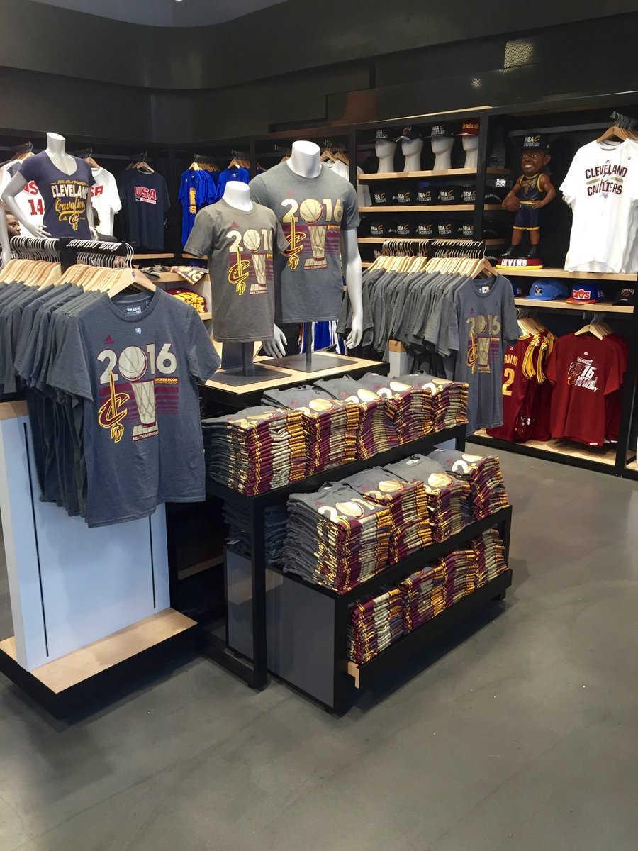 Nba store in manhattan is set up to sell cavs champ gear - scoopnest.com ab90932bedf3