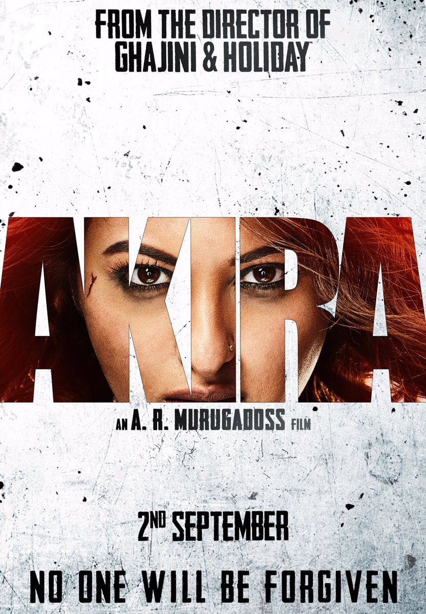 Teaser Poster of Akira starring Sonakshi Sinha