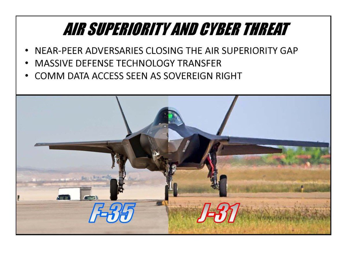 Imitation isn't just flattery, it demonstrates intention to close the air superiority gap. https://t.co/6YWDlyi1eb