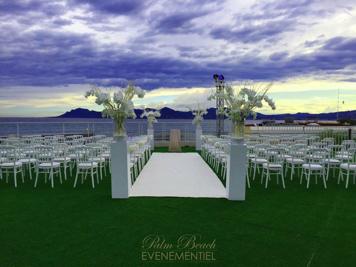 palm beach evenement on twitter wedding day pbecannes mariage wedding cannes palmbeach cotedazur httpstcoqy0xacig2m - Palm Beach Cannes Mariage