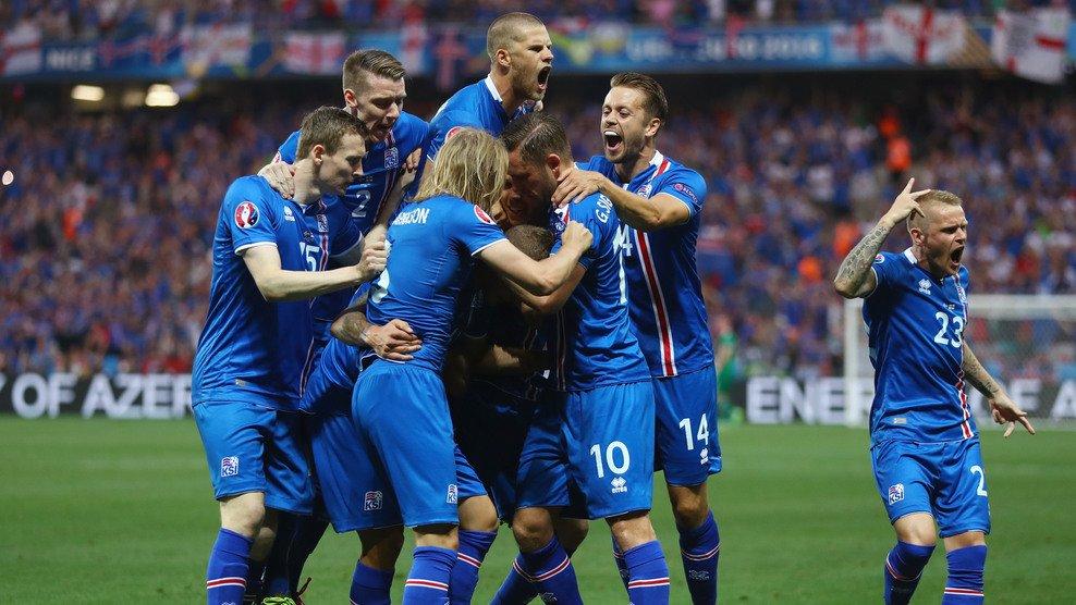 Евро-2016. Исландия сенсационно победила Англию и вышла в четвертьфинал