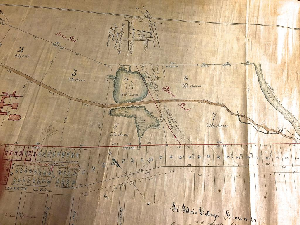 Fordham University On Twitter An Early Map Of The St John S