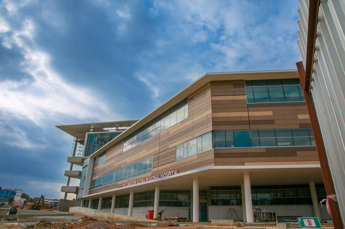 "Beautiful. ""@DeleMomodu: See the ultra-modern hospital built by President MAHAMA in Accra, Ghana... #Ghanaatwork https://t.co/0JqJaol8MC"""