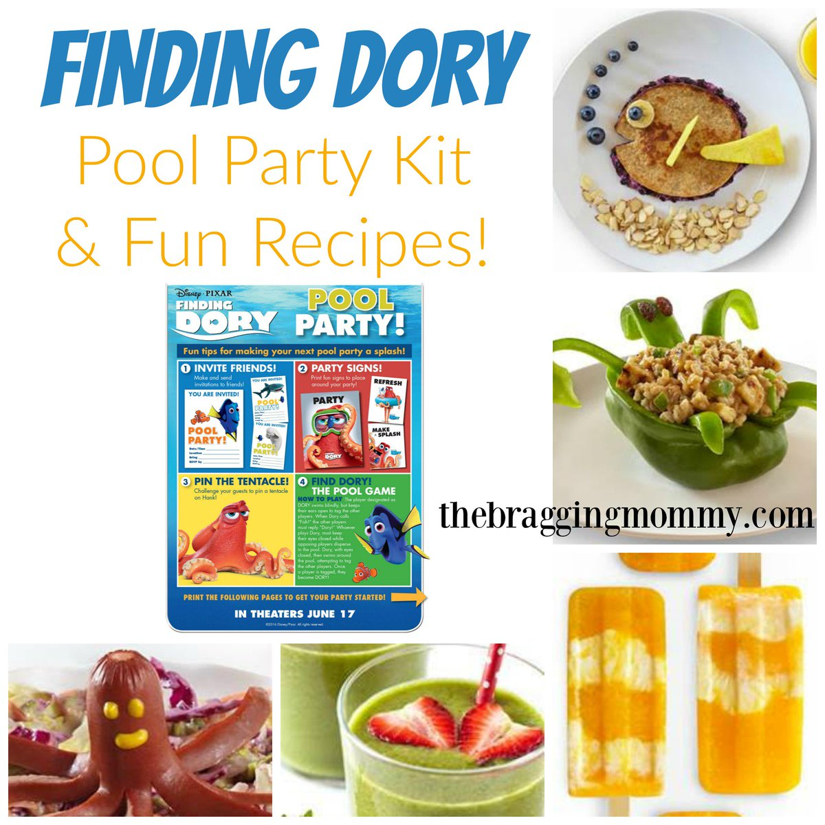 Super fun #FindingDory themed recipes & Pool Party Kit! https://t.co/X4Uv5Ymhth #FindingDoryEvent #HaveYouSeenHer? https://t.co/VHXMz9T5cW