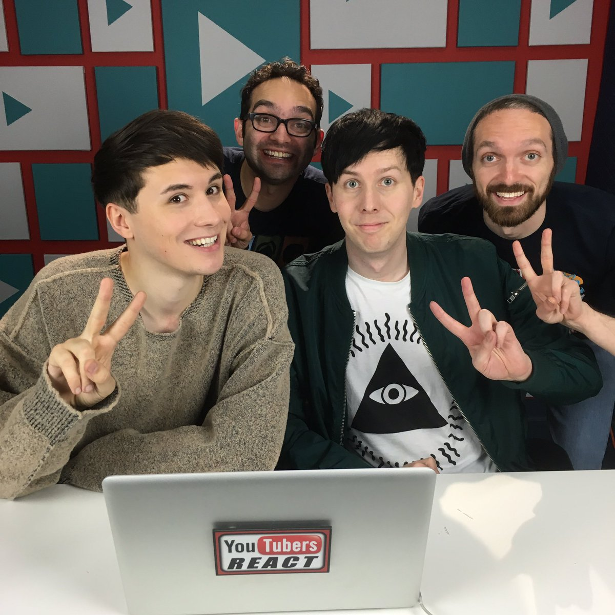 It's becoming our annual tradition - amazing to have @danisnotonfire and @AmazingPhil film with us today! https://t.co/sT2LCE0XRJ