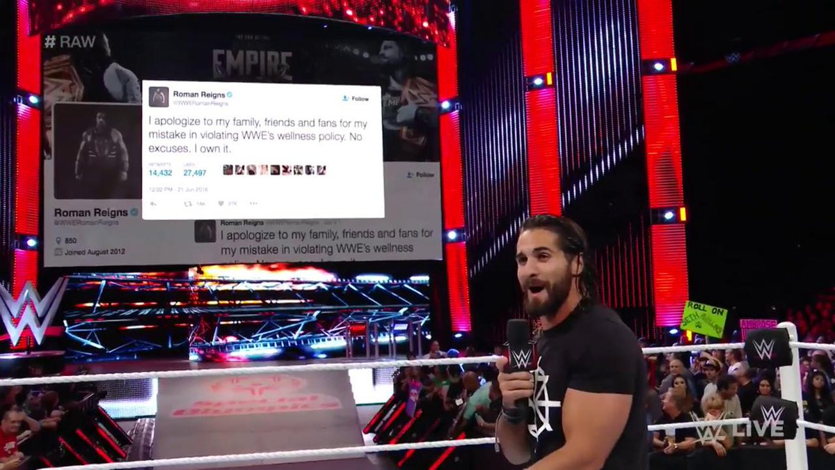 Resultats WWE RAW 27 juin