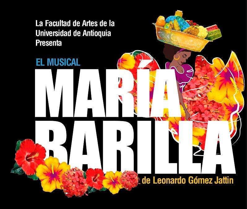Hoy llega María Barilla al Teatro Universitario Camilo Torres. La cita es a las 6 pm 👉 https://t.co/34NrLzBYs8 https://t.co/DASr1rUXhs